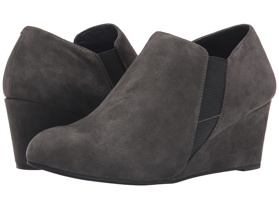 VIONIC - Elevated Stanton Wedge (Slate Grey) Women's Wedge Shoes