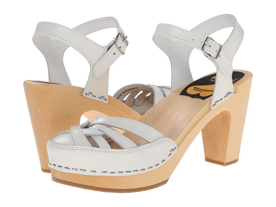 Swedish Hasbeens Agneta (White) High Heels