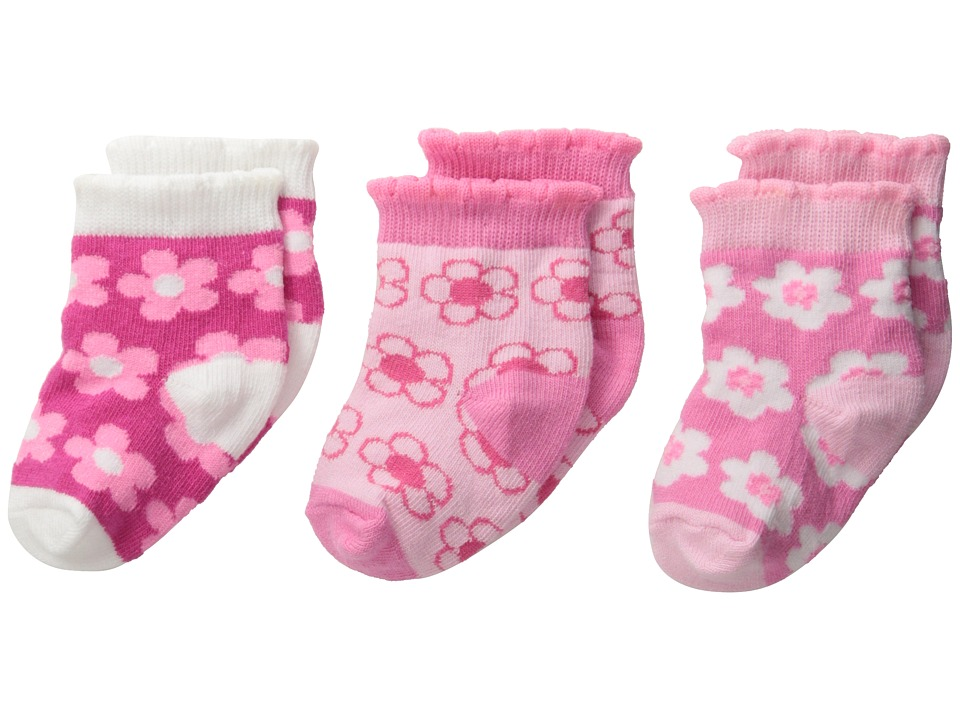 Jefferies Socks - Dancing Daisy 3-Pack (Infant/Toddler) (Daisy) Girls Shoes