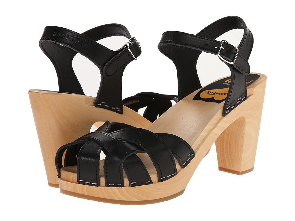 Swedish Hasbeens Pearl (Black) High Heels