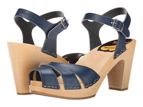 Swedish Hasbeens - Suzanne (Dark Blue) High Heels