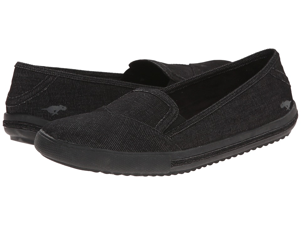 Rocket Dog - Pali (Black Roadrunner) Women's Slip on Shoes