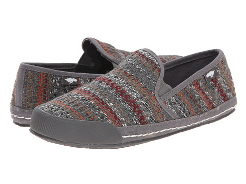 Rocket Dog - Scoop (Grey Cozy Cover) Women's Slip on Shoes