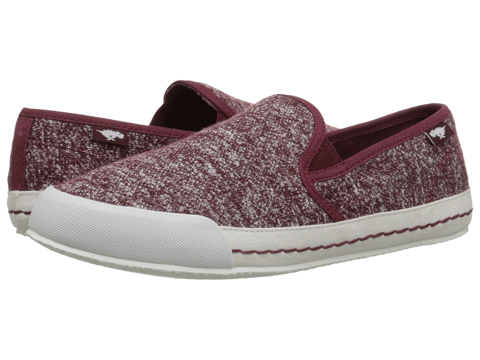 Rocket Dog - Scoop (Burgundy Trails) Women's Slip on Shoes