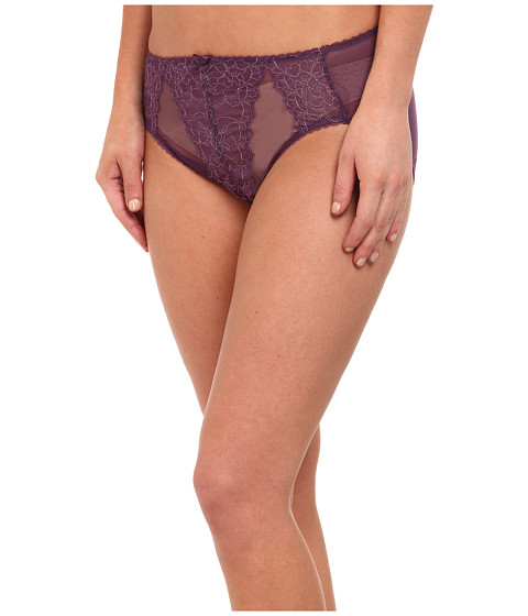 Wacoal - Retro Chic Hi-Cut Brief (Shadow Purple/Gold) Women's Underwear