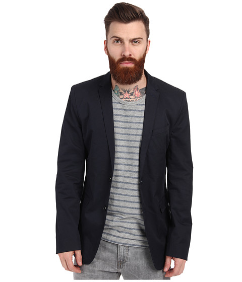 Ben Sherman - Gabardine Blazer MF11328 (Staples Navy) Men's Jacket