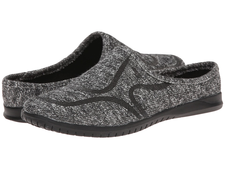 Rocket Dog - Tadley (Black Trails) Women's Slip on Shoes