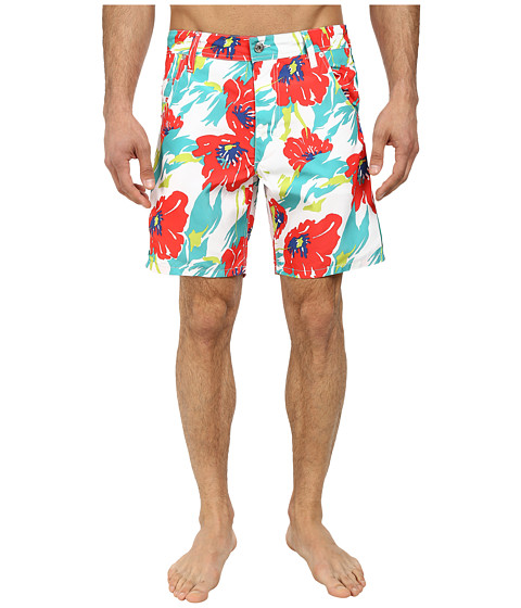 Diesel - Kroobeach Shorts AAHK (Pink/White Floral) Men's Swimwear