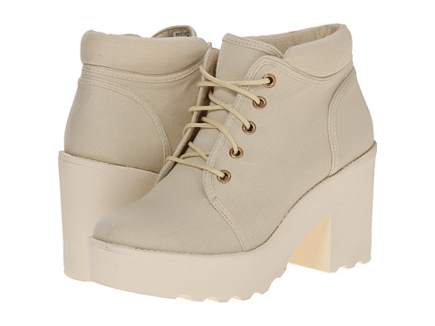 Rocket Dog - Caddo (White Canvas) Women's Lace-up Boots