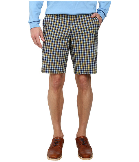 Ben Sherman - Small Check Shorts MG11439 (Medieval Blue) Men's Shorts