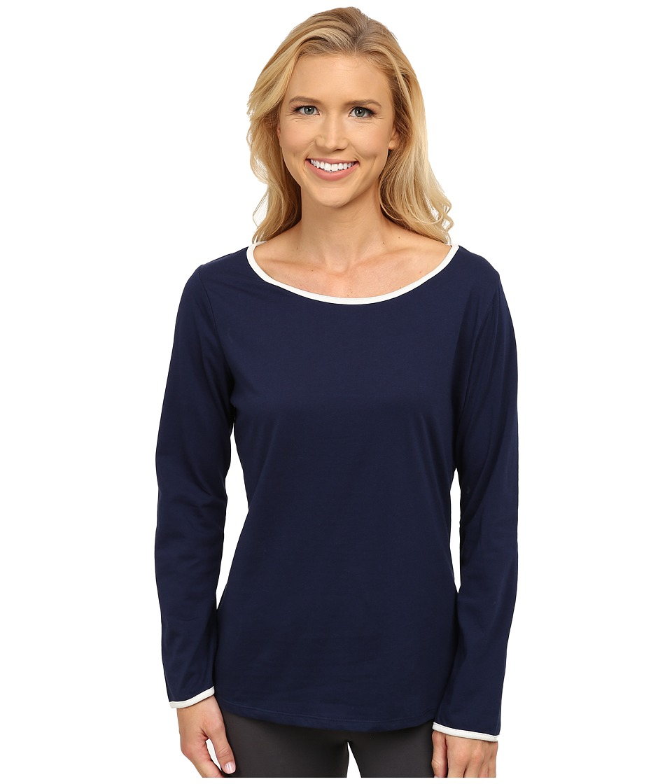 Jockey - Long Sleeve Top (Midnight Navy) Women's Pajama