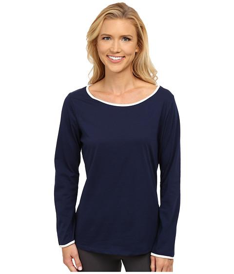 Jockey - Long Sleeve Top (Midnight Navy) Women