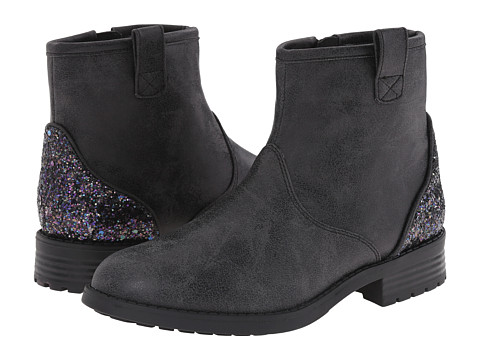 Elie Tahari Kids - Ellie Westie Bootie (Little Kid/Big Kid) (Black) Girl's Shoes