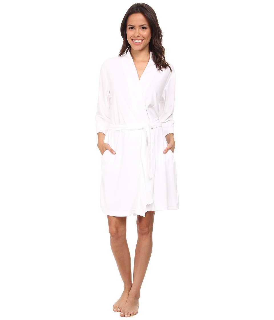 Jockey - Vintage Terry Robe (White) Women's Robe