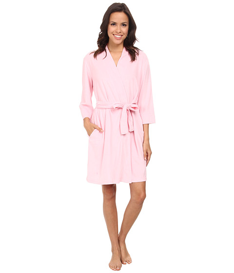 Jockey - Vintage Terry Robe (Candy Pink) Women