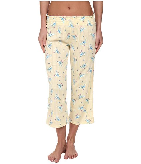 Jockey - Floral Print Capris Pants (Frisco Floral) Women