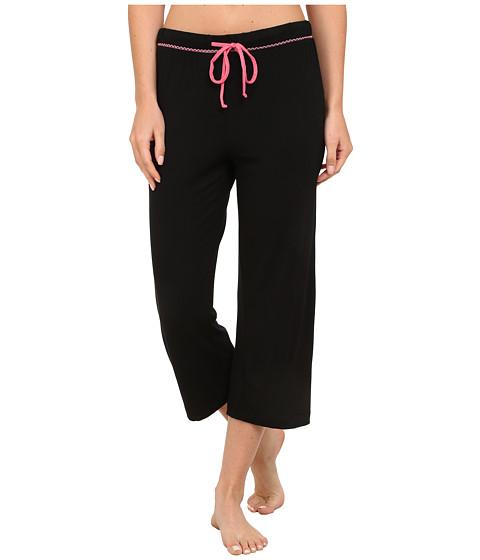 Jockey - Rayon Spandex Capris (Black) Women's Pajama