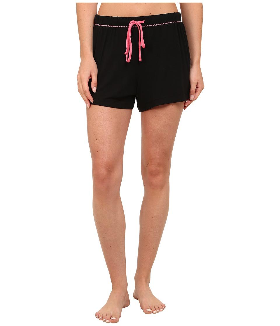 Jockey - Rayon Spandex Boxer (Black) Women's Pajama