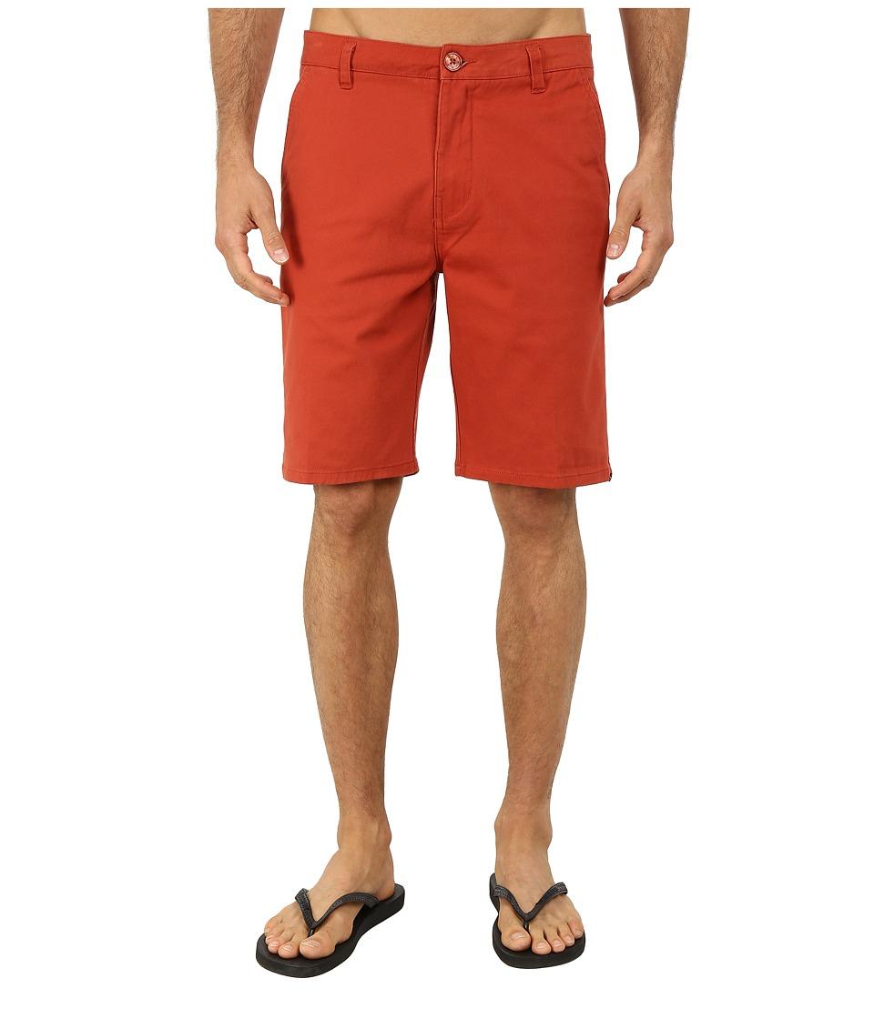 Rip Curl - Epic Stretch Chino Walkshorts (Cinnabar) Men's Shorts