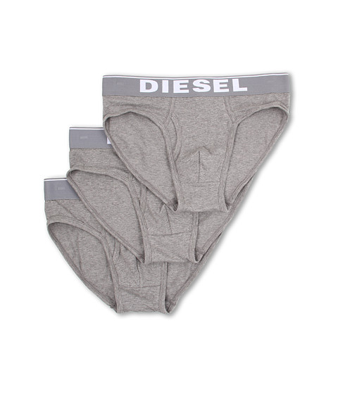 Diesel - Blade Underpants 3-Pack NTGA (Dark Grey Melange) Men's Underwear
