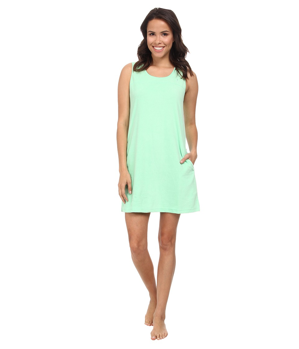 Jockey - Vintage Terry Chemise (Spring Green) Women's Pajama plus size,  plus size fashion plus size appare