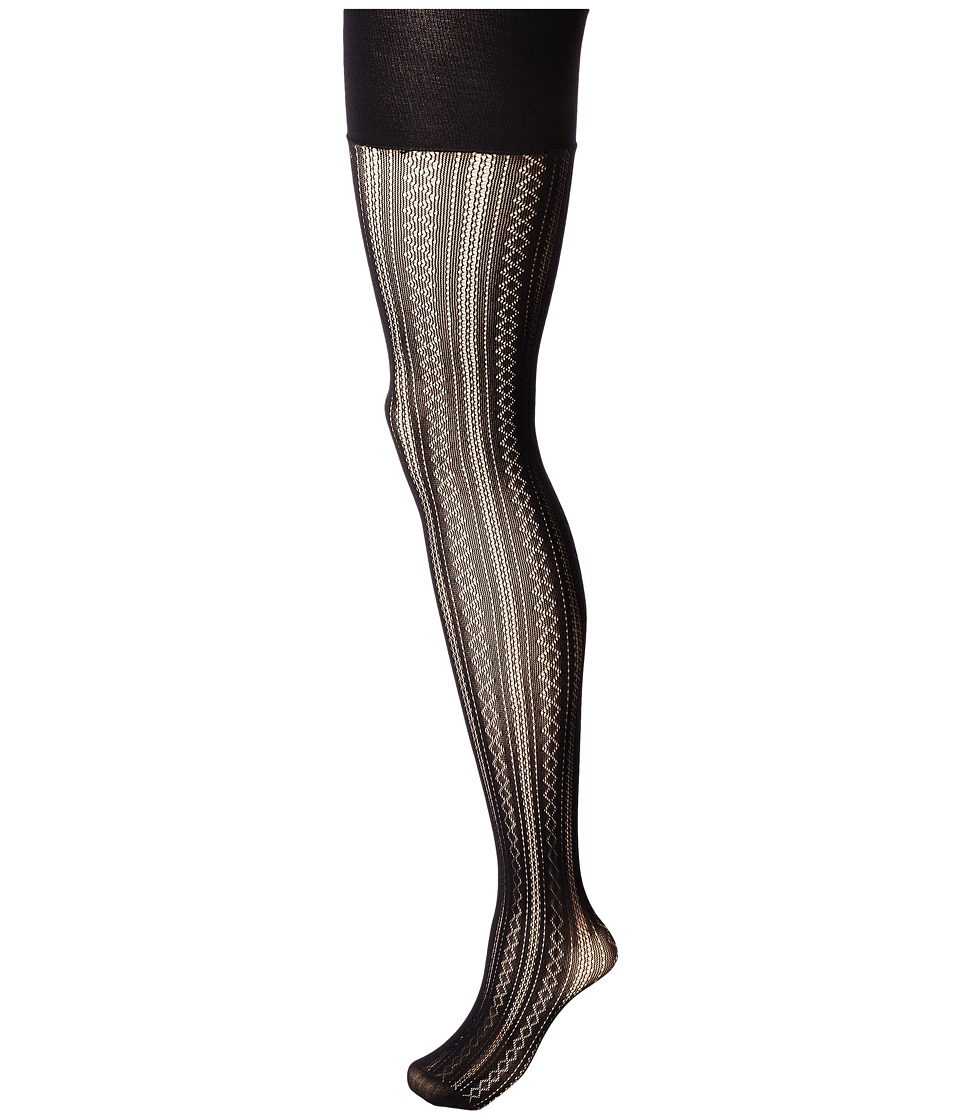 Spanx - Case In Pointelle Shaping Tights (Very Black) Hose