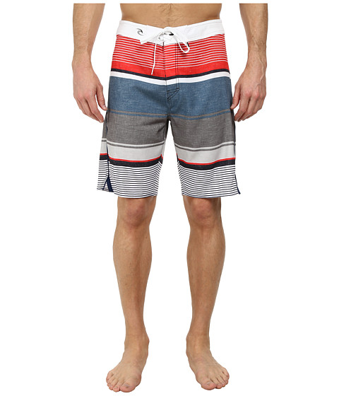 Rip Curl - Mirage Aggrotime Boardshorts (Red) Men's Swimwear