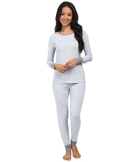 Splendid - PJ Set (Light Blue Heather) Women