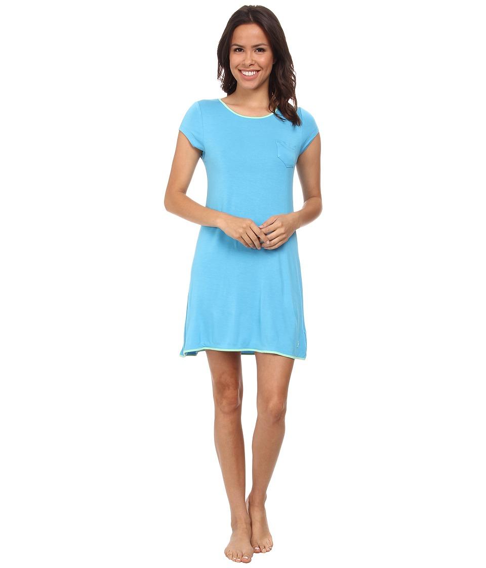 Jockey - Rayon Spandex Sleepshirt (Bermuda Blue) Women's Pajama