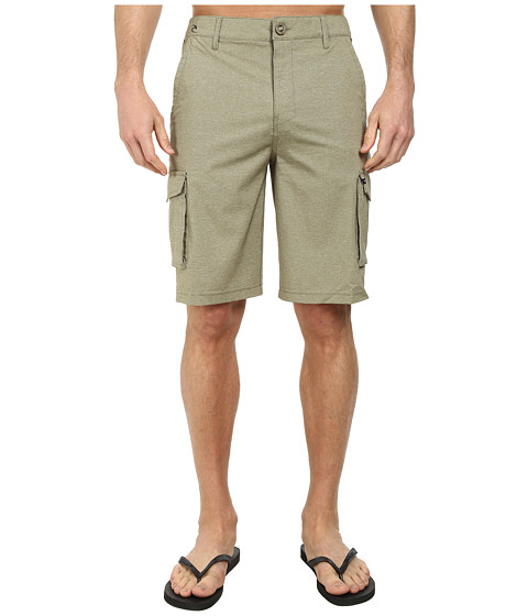 Rip Curl - Mirage Cargo Boardwalk Shorts (Miltary Green) Men