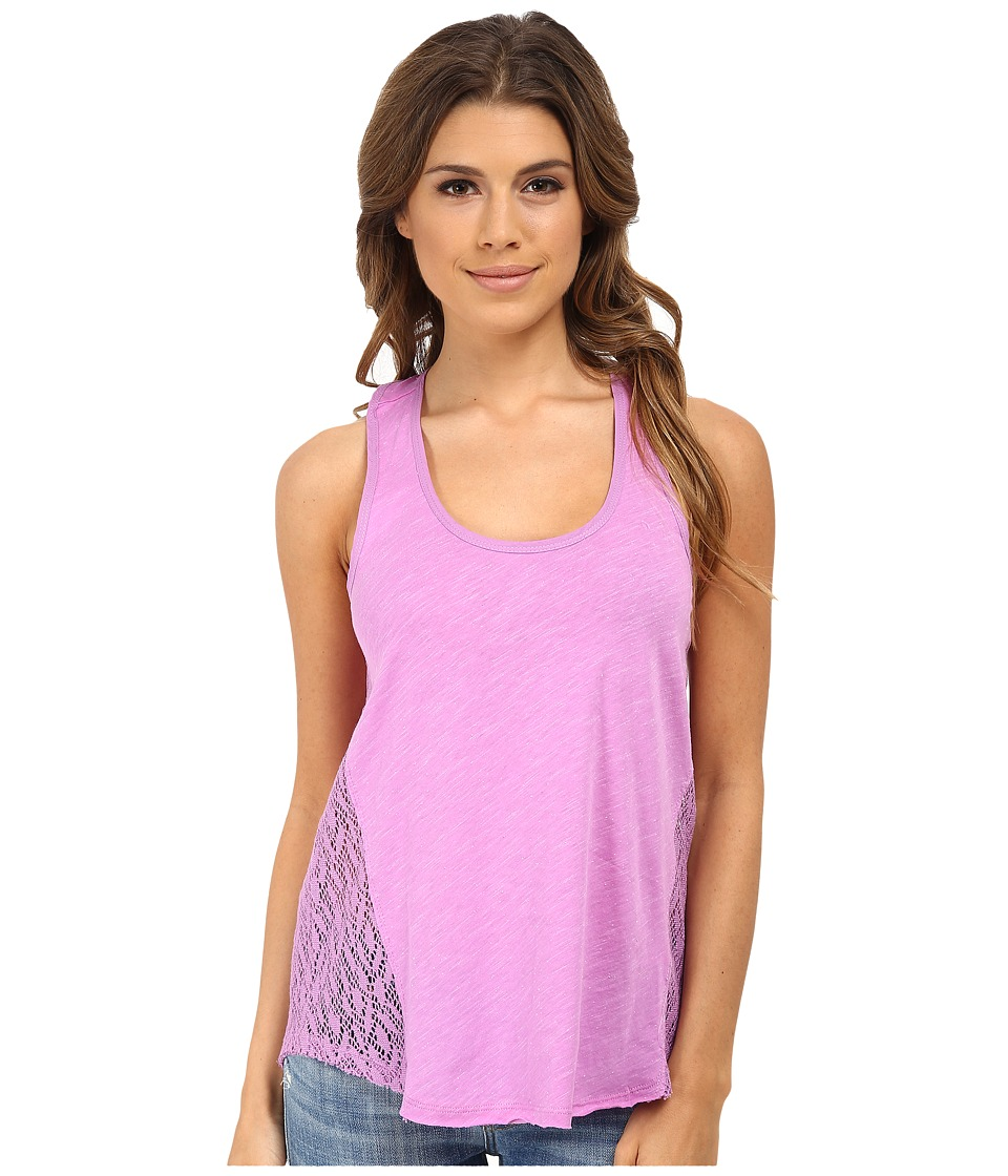 UNIONBAY - Aspen Jersey Krista Tank Top (Galactic Grape) Women
