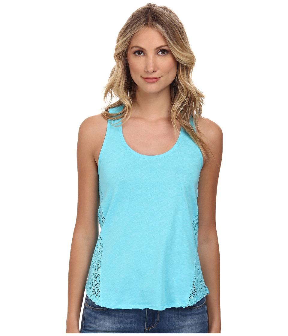 UNIONBAY - Aspen Jersey Krista Tank Top (Beachy Blue) Women's Sleeveless