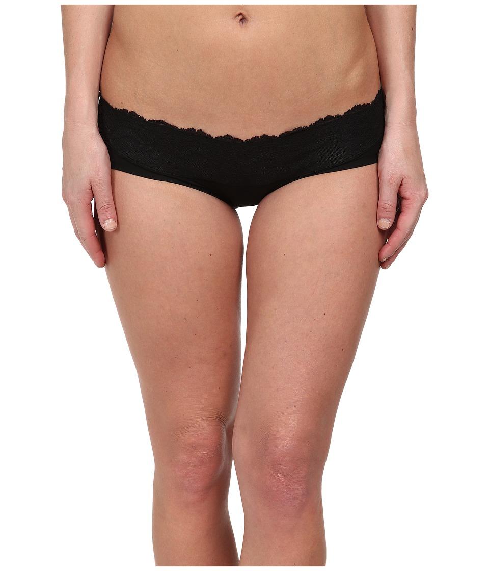 Spanx - Lace Waist Hipster (Black) Women's Underwear