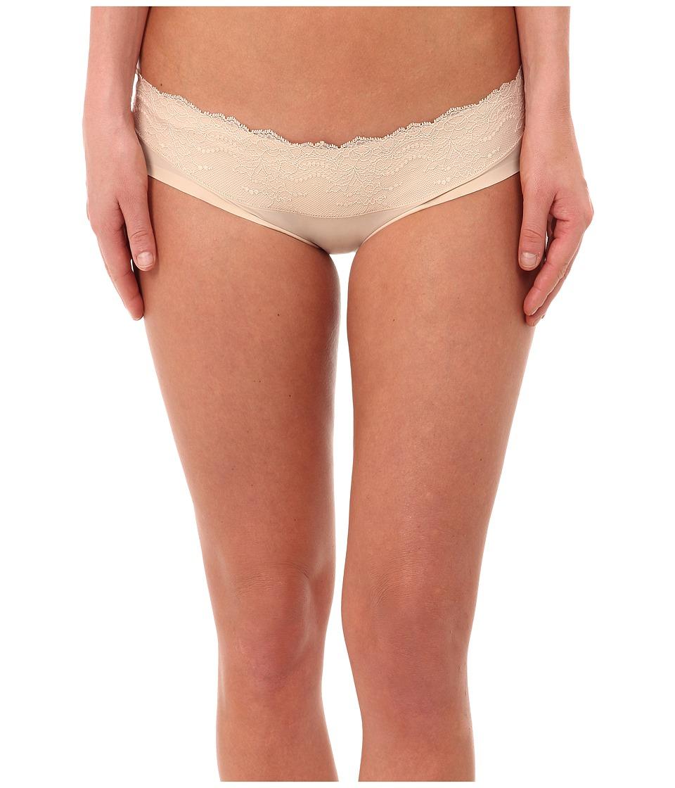 Spanx - Lace Waist Hipster (Nude) Women's Underwear