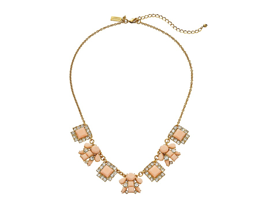 Kate Spade New York - Turn Heads Mini Necklace (Pink Multi) Necklace