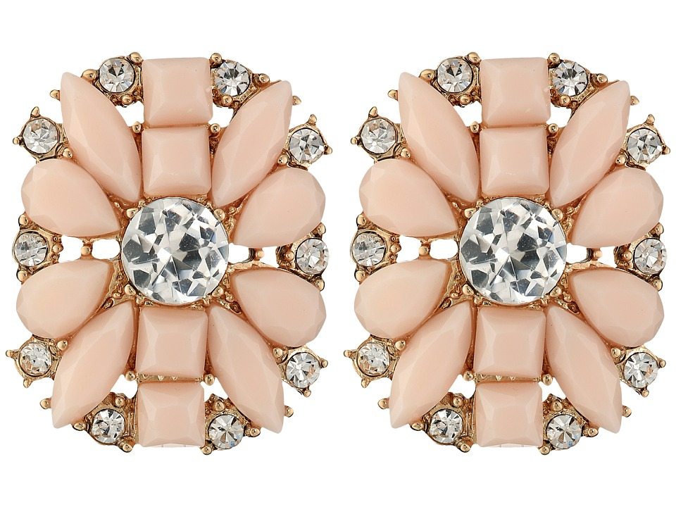 Kate Spade New York - Turn Heads Statement Studs Earrings (Pink Multi) Earring