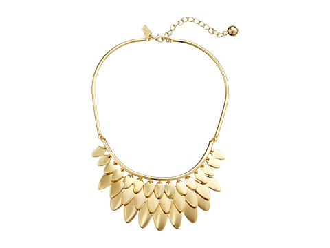 Kate Spade New York - Fancy Flock Collar Necklace (Gold) Necklace