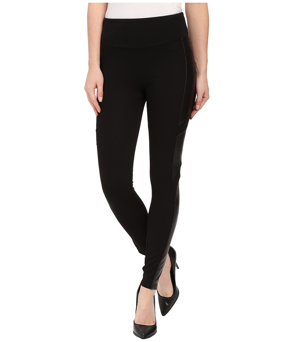 Spanx - Moto Ponte Leggings (Very Black) Women's Casual Pants
