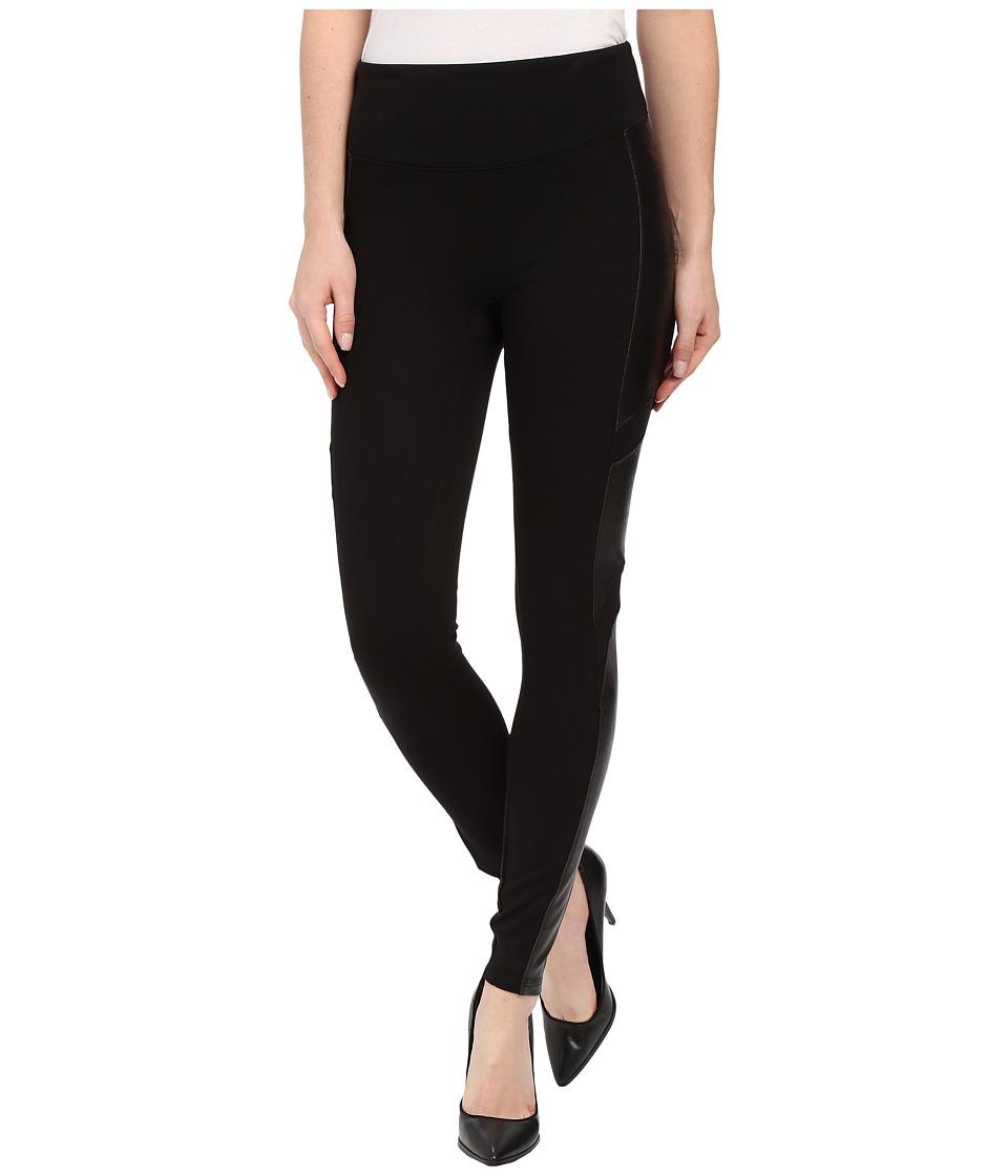 Spanx - Moto Ponte Leggings (Very Black) Women's Casual Pants