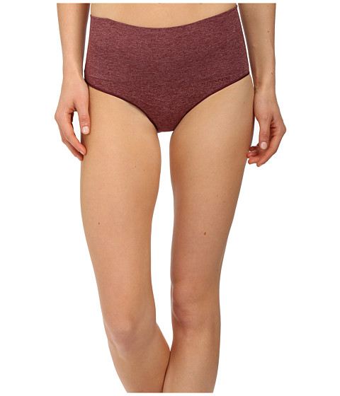Spanx - Everyday Shaping Brief (Heathered Rich Garnet) Women