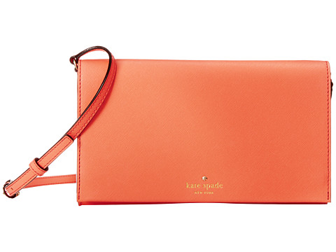 Kate Spade New York - Cedar Street Cali Crossbody (Guava) Cross Body Handbags