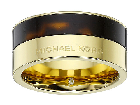 Michael Kors - Color Block Ring (Gold 2) Ring