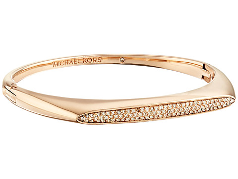 Michael Kors - Tribal Hinge Bangle Bracelet (Rose Gold) Bracelet