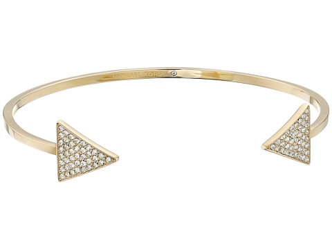 Michael Kors - Pave Arrow Open Cuff Bracelet (Gold) Bracelet