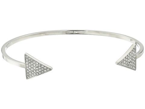 Michael Kors - Pave Arrow Open Cuff Bracelet (Silver) Bracelet