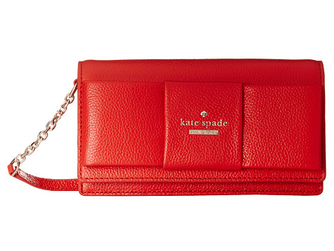 Kate Spade New York - Julia Street Rina Crossbody (Cherry Liqueur) Cross Body Handbags