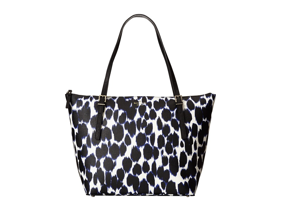 Kate Spade New York - Emma Lane Fabric Maya (Deep Indigo Multi) Tote Handbags