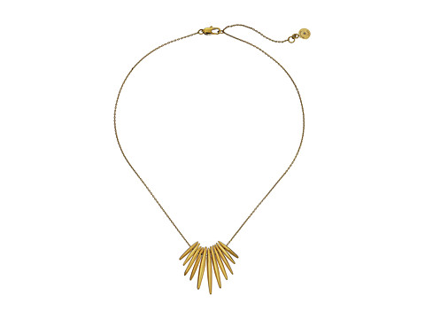 Michael Kors - Tribal Pendant Necklace (Gold) Necklace