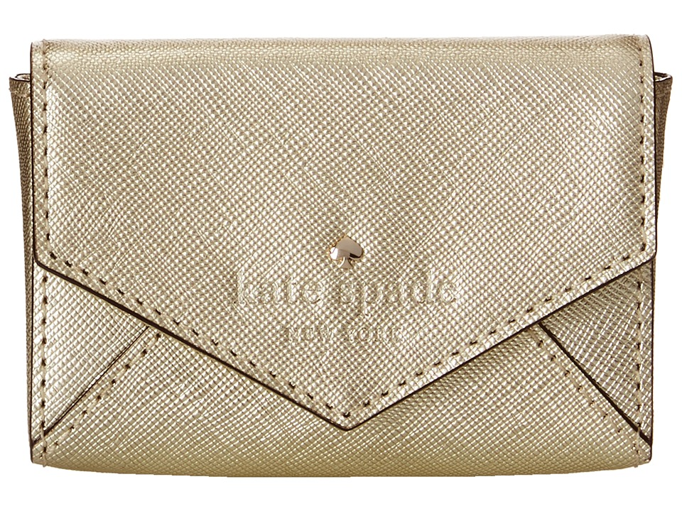 Kate Spade New York - Cedar Street Marietta Money Piece (Gold) Wallet