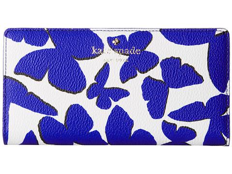 Kate Spade New York - Hawthorne Lane Stacy Money Piece (Lapis Blue Multi) Wallet